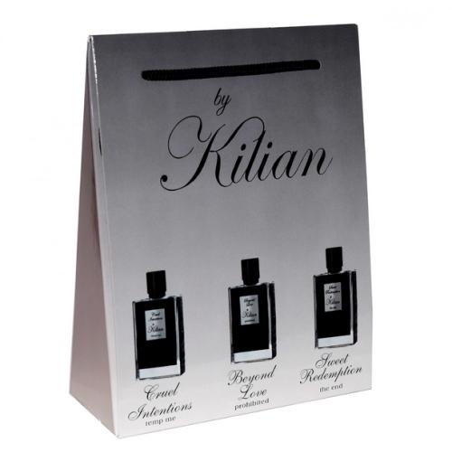 Подарочный набор by Kilian в пакете Cruel Intentions+Beyond Love+Sweet Redemption 3х15ml (унисекс)_Копия