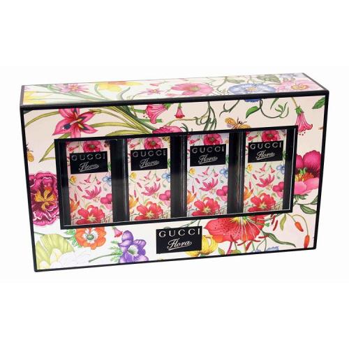 Набор масляных духов Gucci Flora Garden Miniature Perfume 4x5 ml_Копия