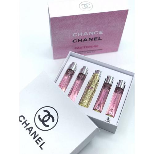 Набор парфюмов Chanel Chance Eau Tendre 5х11ml_Копия