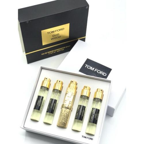 Набор парфюмов Tom Ford Oud Wood 5х11ml_Копия