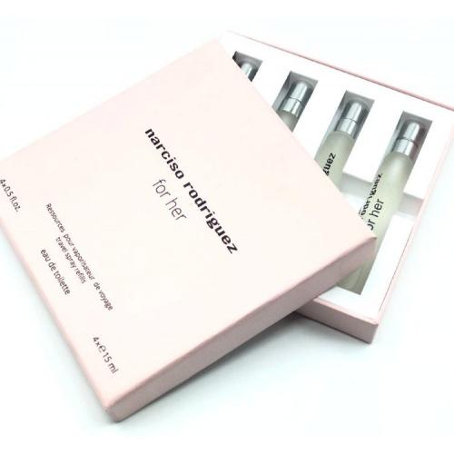 Подарочный набор Narciso Rodriguez For Her 4 х 15 ml_Копия