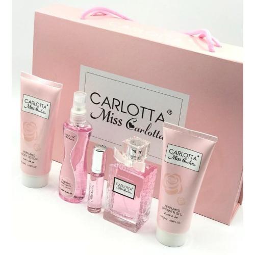 Подарочный набор 5 в 1 Carlotta Miss Carlotta (ОАЭ)_Копия