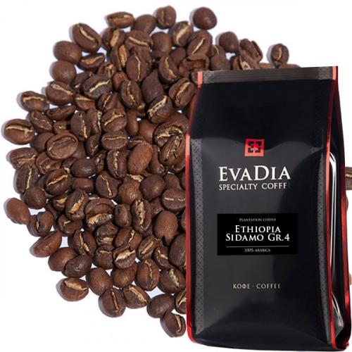 Кофе Эфиопия Сидамо Gr. 4 (Natural) сухой