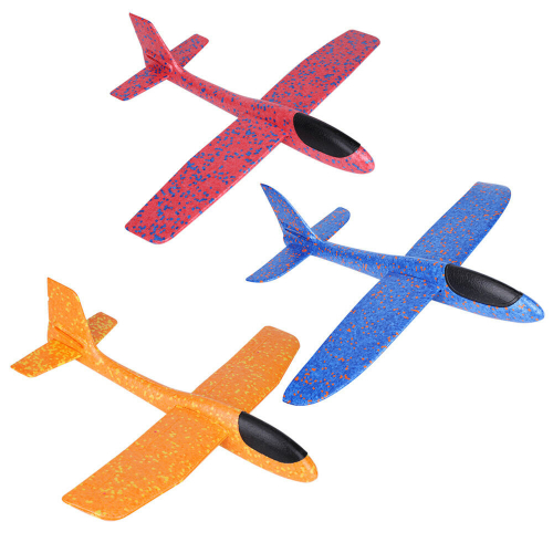 Самолет 47см ПВХ (100)УТ000013180