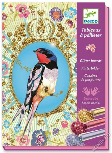 Набор для творчества «Блестящие птицы»
