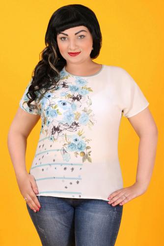 2Г 3569 Блуза белый