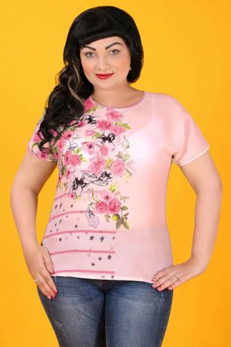 2Г 3569 Блуза розовый