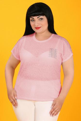 2Г 3557 Блуза розовый
