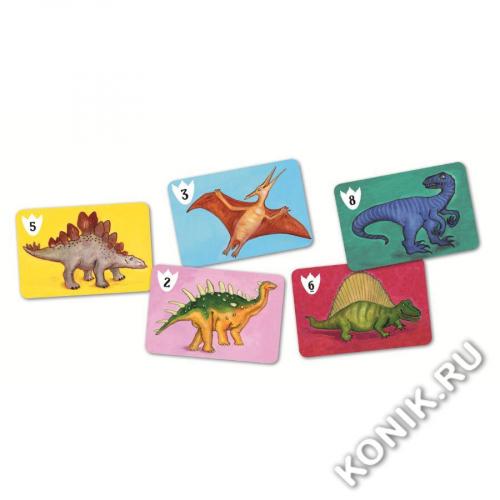 Детская наст.карт.игра Динозавры