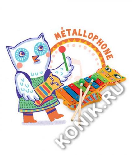 Металлофон Кот