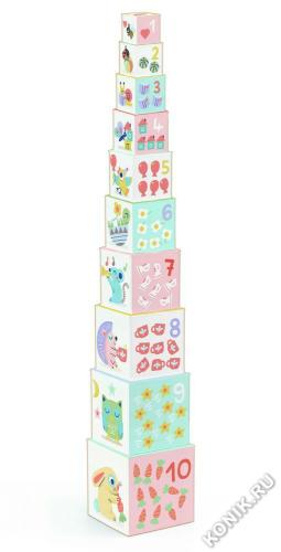 Кубики-пирамидка Блоки