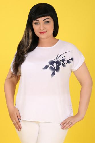 2В 3588 Блуза белый