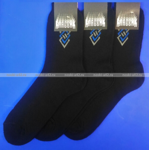 Тула Классик носки мужские КМ-108 внутри махра