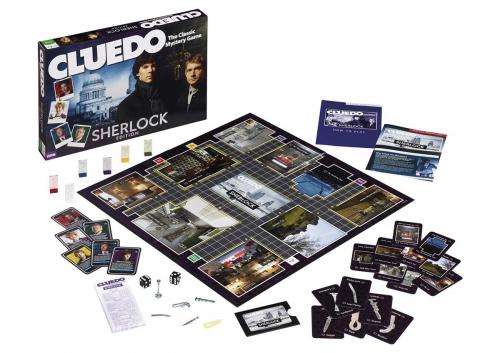 Настольная игра CLUEDO ШЕРЛОК