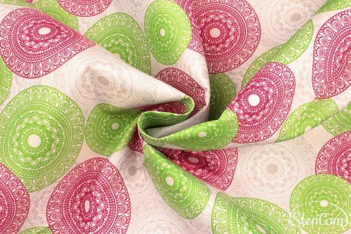 Ткань курточная 216MAR-GROUPS - OSLO (PDD317) WR PU MILKY - FUCHSIA #3790