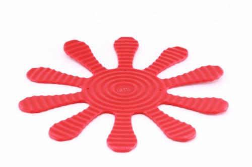 9373 GIPFEL Подставка многофункциональная красная 29х29см металл покрытый силиконом