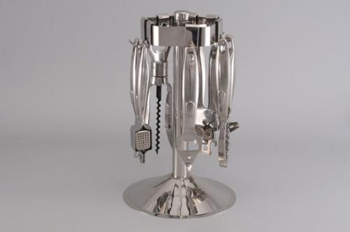 6076 GIPFEL Набор барных инструментов MIRAGE 6 пр. на стойке (нерж. сталь)