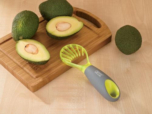 9907 GIPFEL Нож для авокадо TAMU 18х6 см Материал: AS+PP+TPR