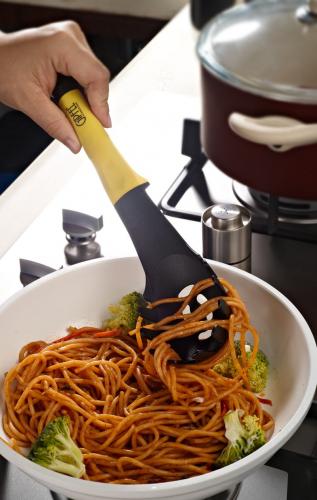 6470 GIPFEL Ложка для спагетти  COMFORT 28,5х7,0см (пластик+нейлон)