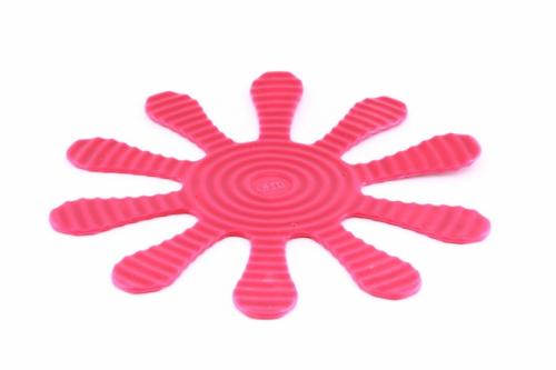 9371 GIPFEL Подставка многофункциональная розовая 29х29см металл покрытый силиконом