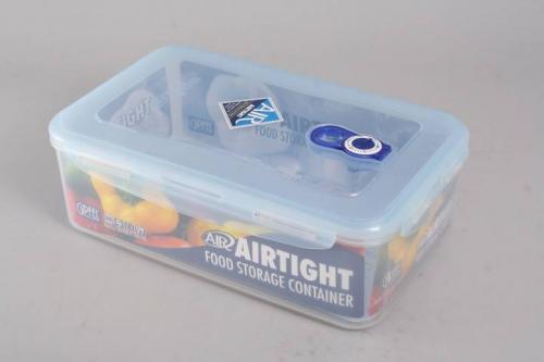 4805 GIPFEL Герметичный контейнер для хранения продуктов 252х183х102 мм - 2700 мл (пластик)