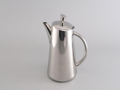 8573 GIPFEL Кофейник MERIT 1400 мл (нерж. сталь)