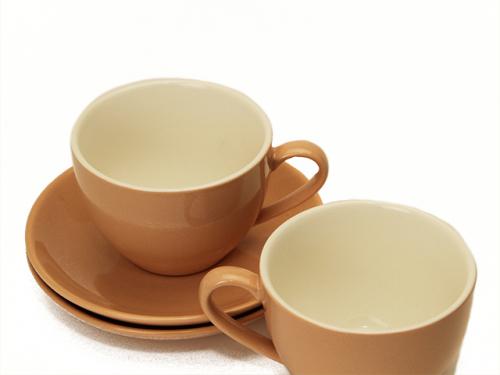 7161 GIPFEL Набор чайный MARIANNI (2 чашки 250мл, 2 блюдца). Материал керамика. Цвет: розовый