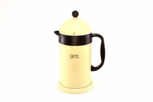 5387 GIPFEL Кофейник-термос 15,5х13,5х27,5 см 1 л с двойными стенками (нержавеющая сталь)