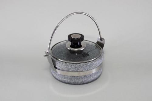 5774-S STAHLBERG Горшок со стеклянной крышкой 18х8 см