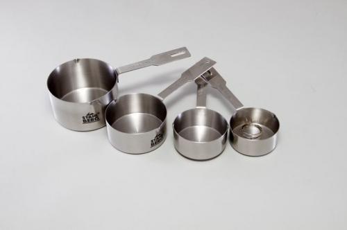 9323-S STAHLBERG Набор мерных чашек 4 пр ( 60мл, 78,5мл, 125мл,236мл) нерж. сталь