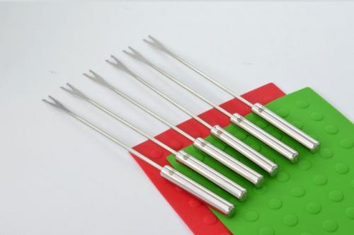 5740-S STAHLBERG Набор вилок с 2-мя зубцами для фондю 6 шт  26 см (нерж. сталь)сталь)