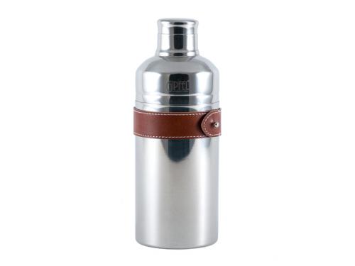 2125 GIPFEL Шейкер коктейльный 500 мл, 19,5х7,5см. Материал: нерж сталь 304, искуственная кожа.