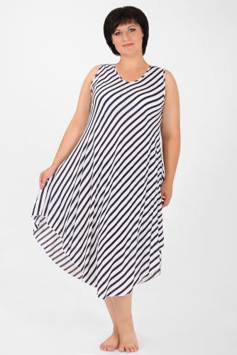 1-4-15 9063 Платье пляжное