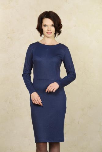 Платье синий
