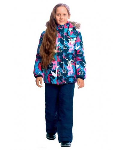 Комплект зимний куртка и брюки WP91257 BLUE