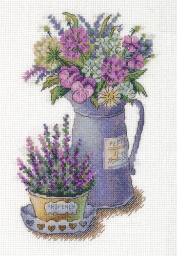 Набор для вышивания  C-7125 Цветы Прованса
