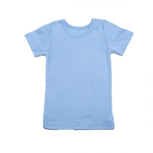 265-1006 футболка голубая