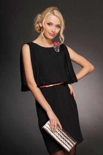 Платье черный