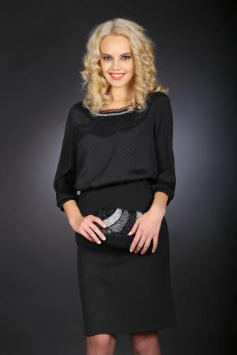 Блуза черный