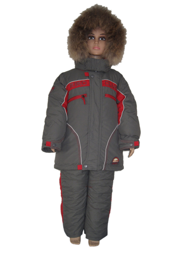 3056 М Костюм для мальчика зимний (Пух-пакет)