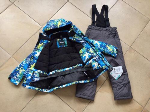 Теплый зимний мембранный комплект Snowest цвет Blue Winter Ski р. 98