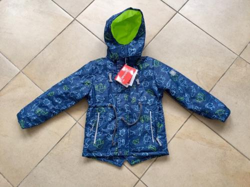 Демисезонная мембранная куртка Tornado цвет Deep Blue р. 128/134