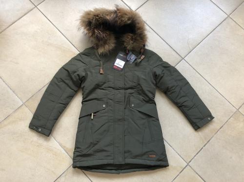 Теплая зимняя мембранная парка High Experience цвет Army Green р. 158+