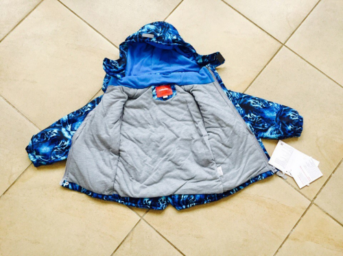 Демисезонная мембранная куртка Tornado цвет Wild Blue Safari р. 86/92