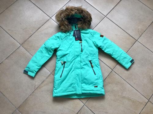 Теплая зимняя мембранная парка High Experience цвет Peppermint р. 158+