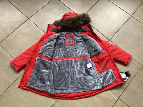 Теплая зимняя мембранная парка High Experience цвет Watermelon Red р. 146+