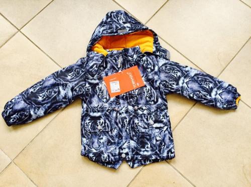 Демисезонная мембранная куртка Tornado цвет Wild Grey Safari р. 86/92