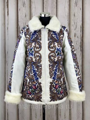 Куртка с воротником