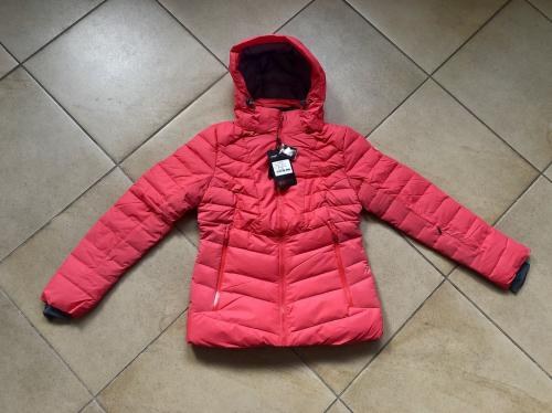 Теплая женская зимняя мембранная куртка High Experience цвет Light Red р. XL (48)