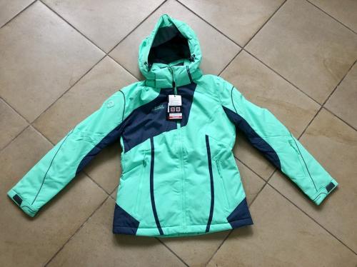 Теплая женская зимняя мембранная куртка High Experience цвет Light Green р. M (44)